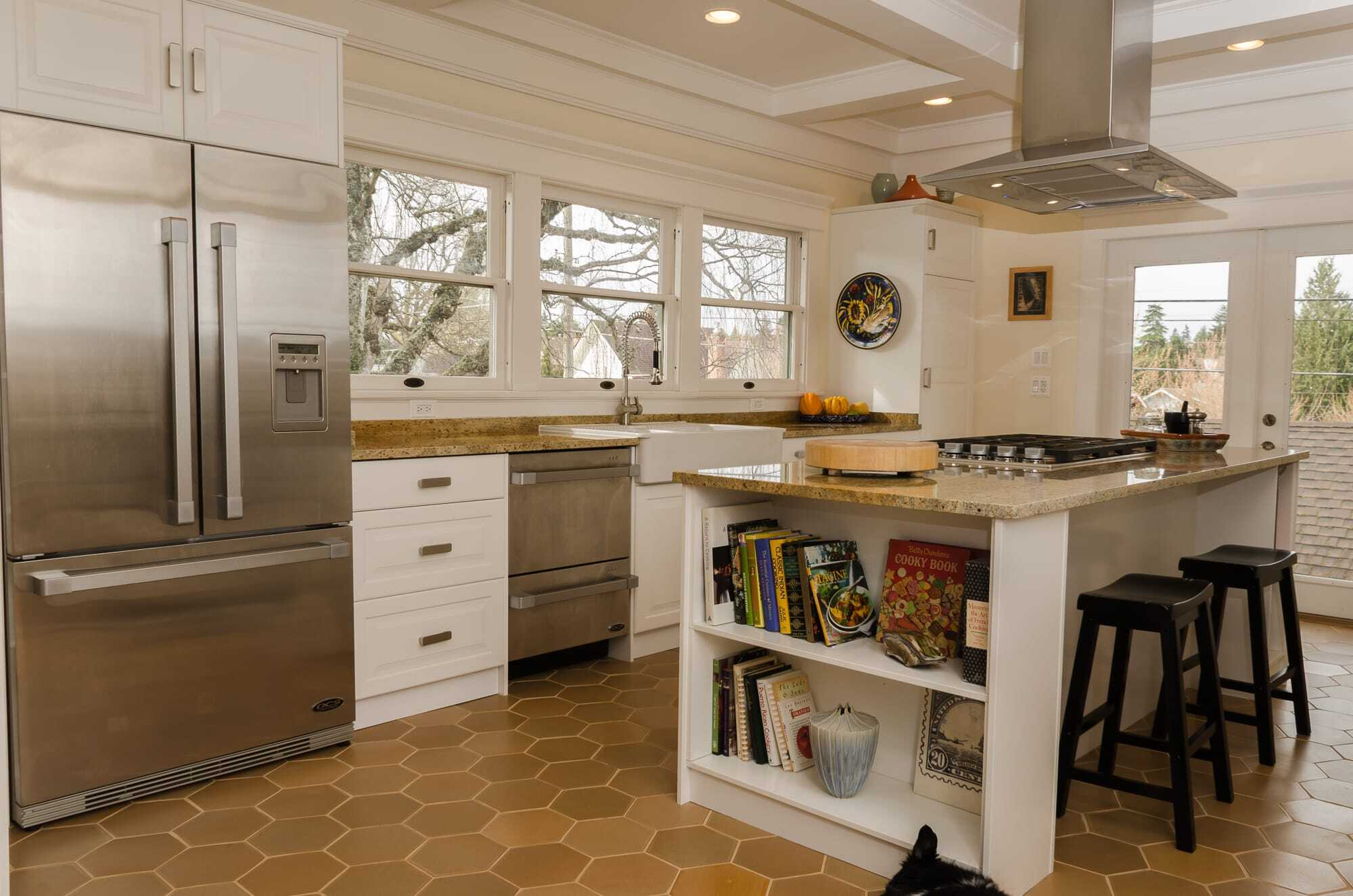 tacoma craftsman kitchen – nw homeworks