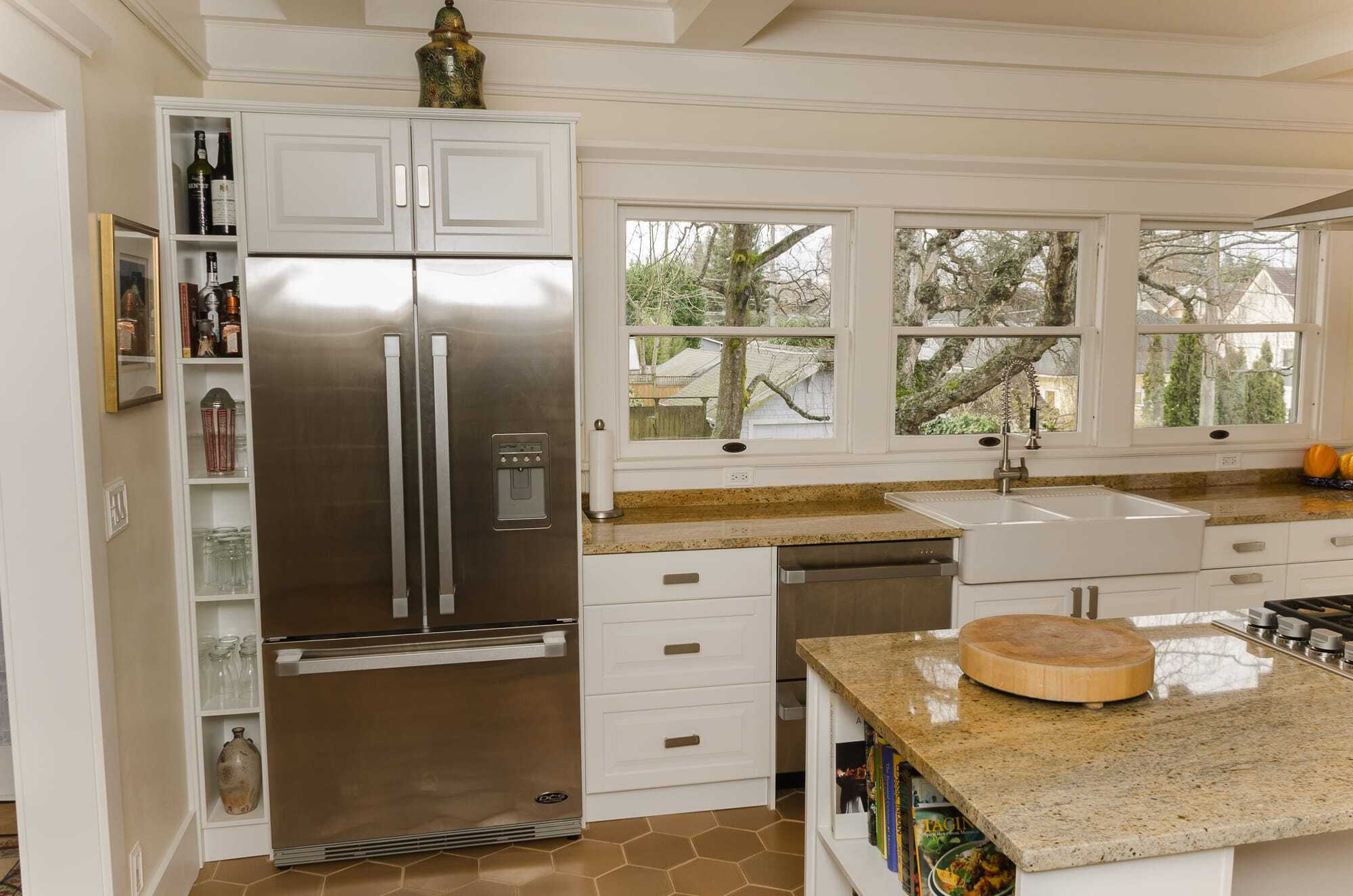 craftsman style kitchen – nw homeworks