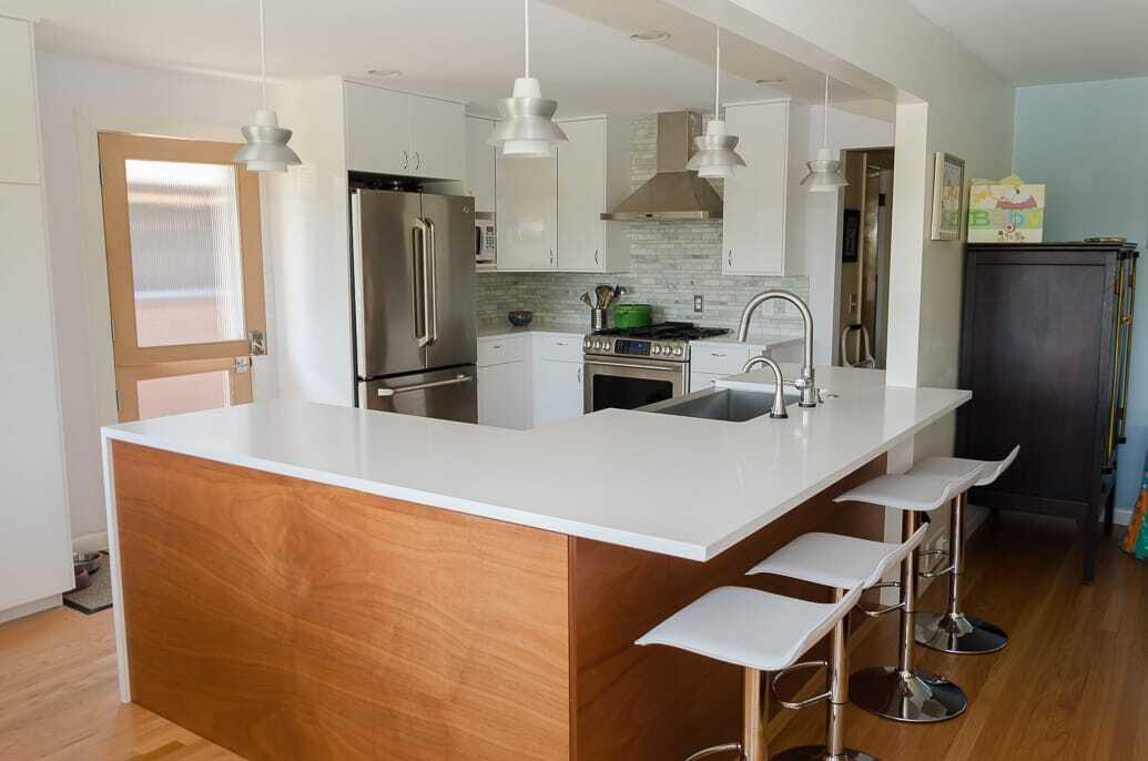 Mid.Century.Modern.Kitchen.IKEA